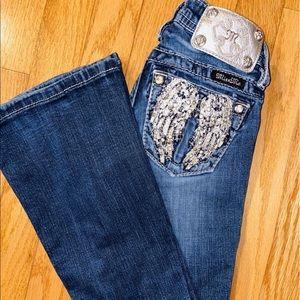 Miss Me Angel Back Pocket Jeans